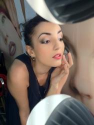 IMATS LA 2012 Poise makeup booth. makeup on Boots