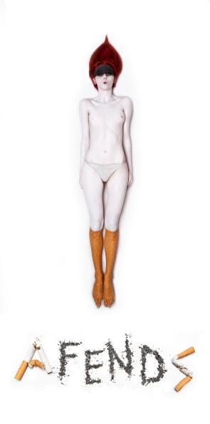 AFENDS clothing Tshirt image shoot w/ photographer Callie Marshall