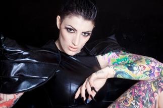 INKED Magazine - Model India Rose w/ Photographer Debbi Rotkowitz in Sydney Australia